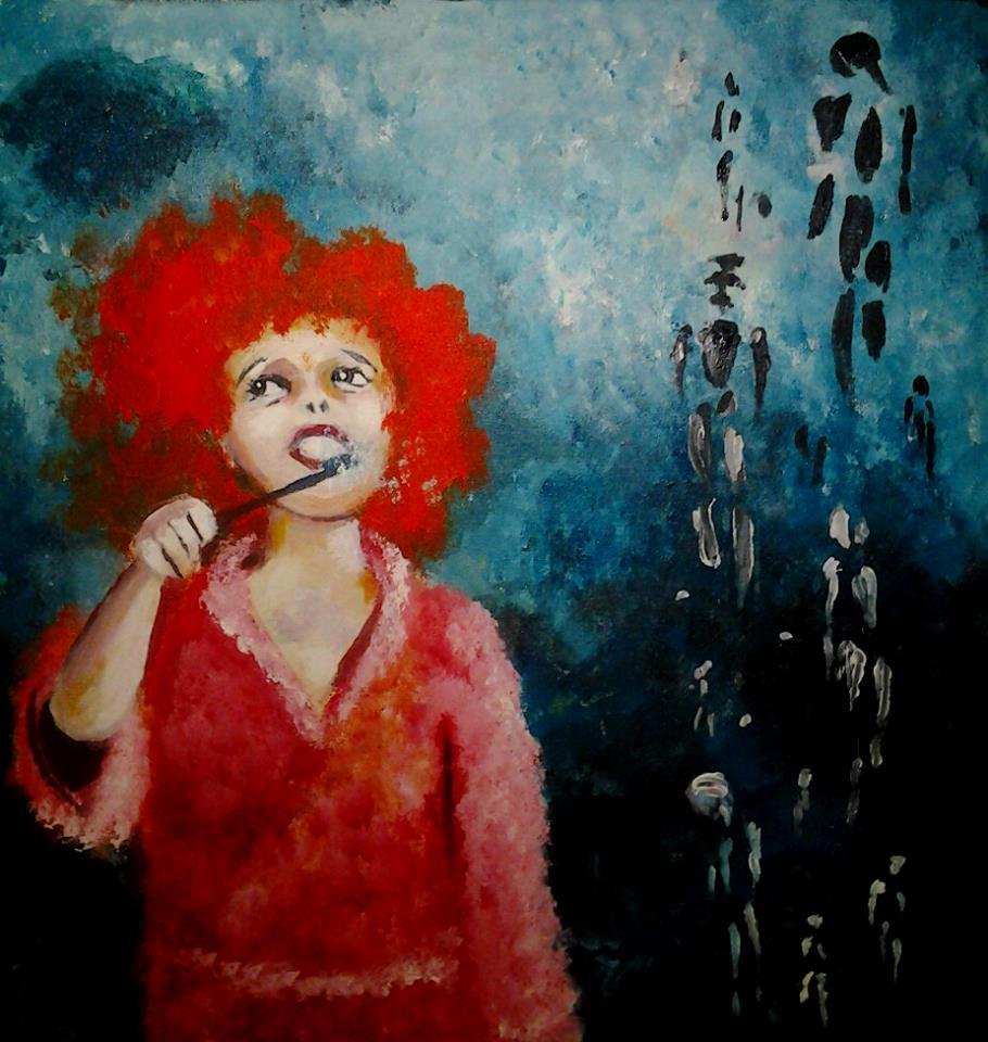 2014, akryyli, canvas, 60x60cm