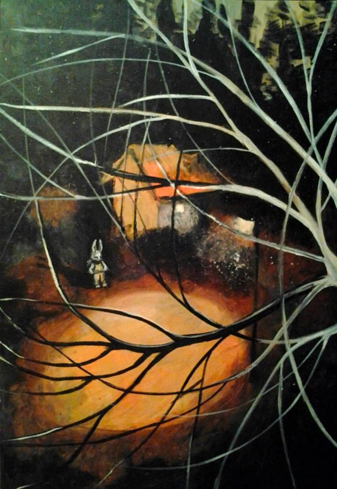 2014, akryylimaali, canvas, 60x90cm, 690e
