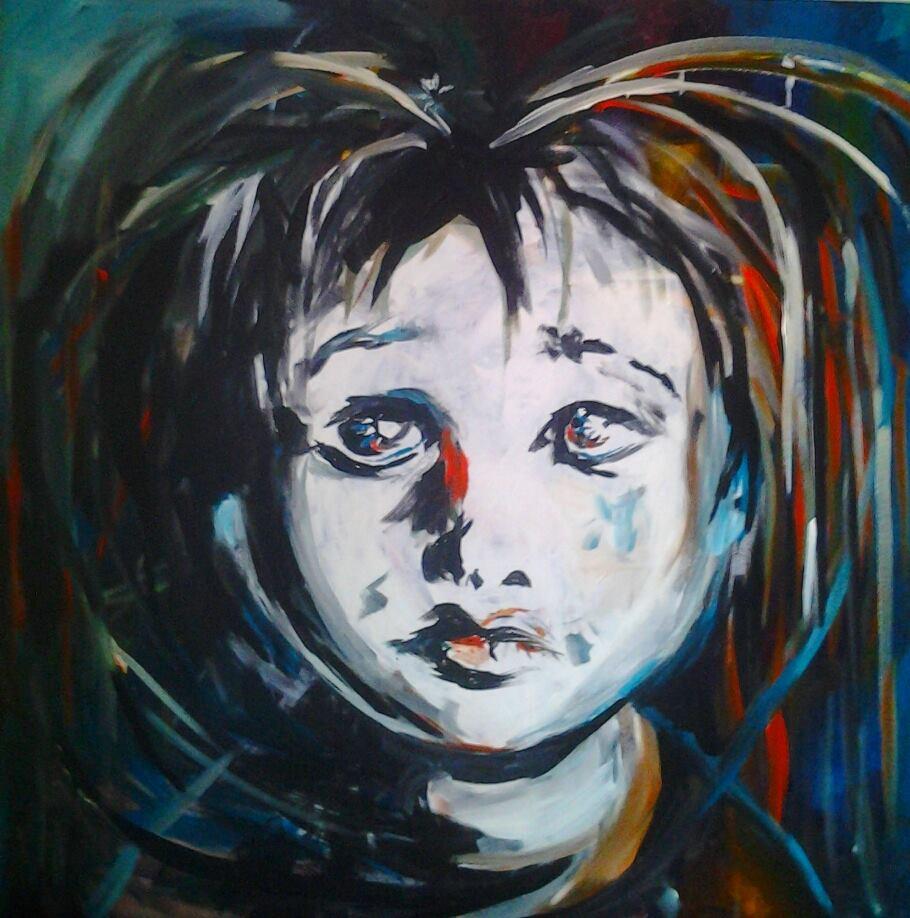 2014, akryylimaali, canvas, 90x90cm