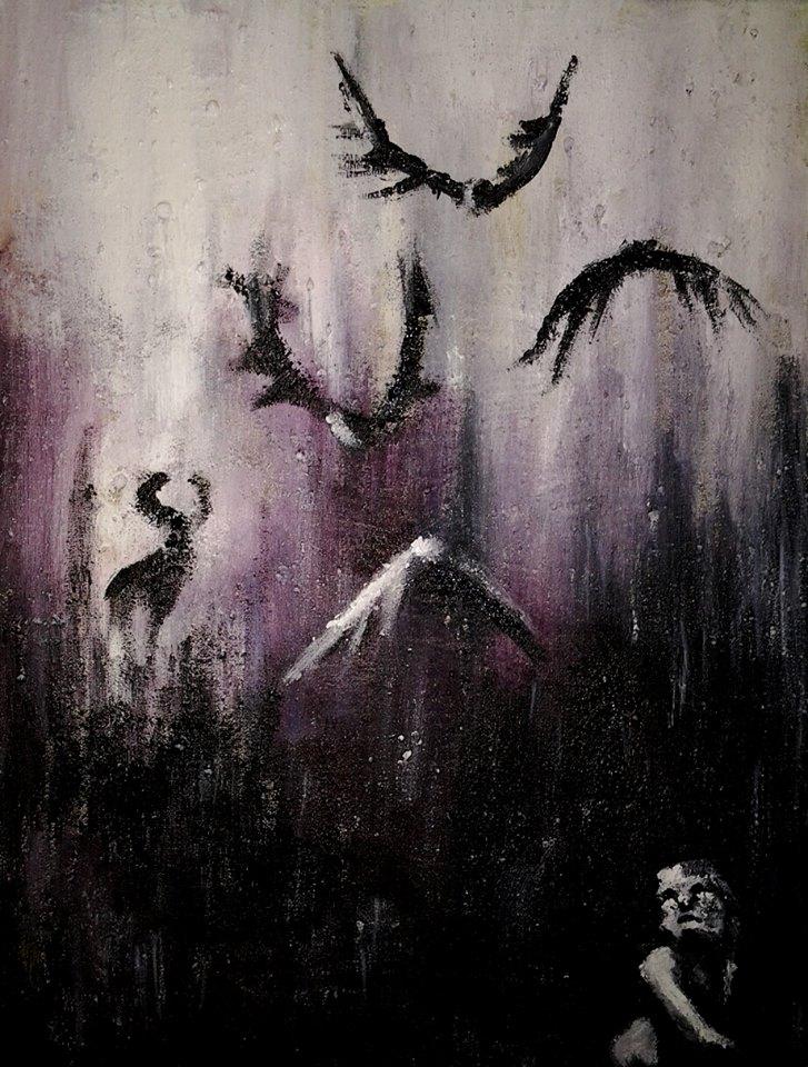 2014, akryylimaali, canvas, 20x30cm