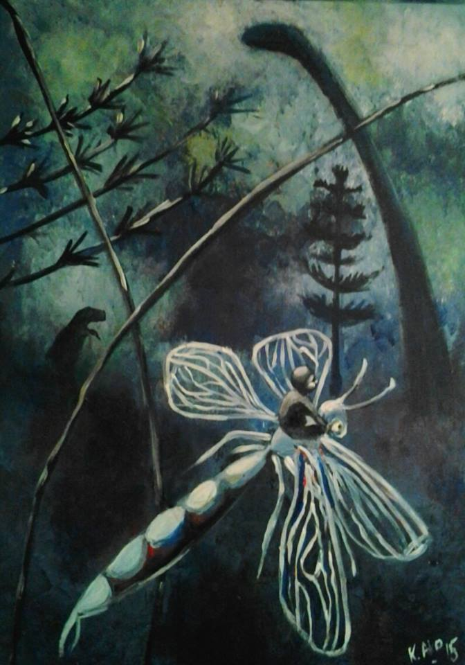 2015, akryylimaalaus, canvas 50cmX70cm 350e
