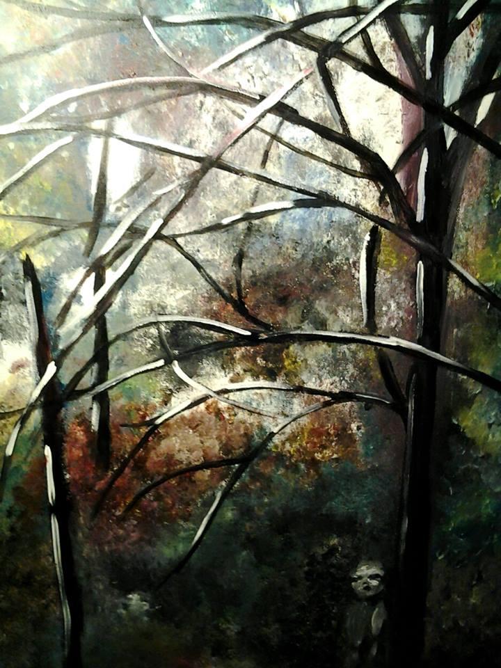 2014, akryylimaali, canvas, 60x90cm