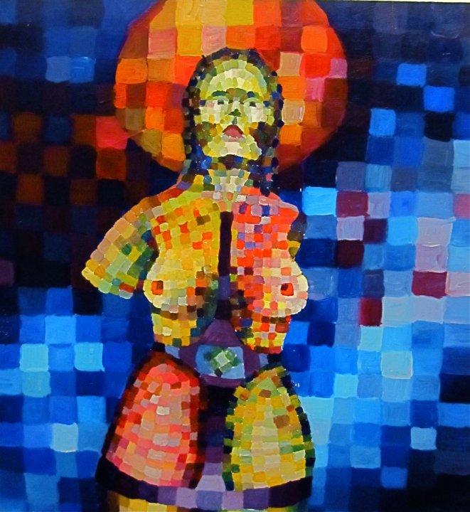 2006, akryylimaali, kovalevy