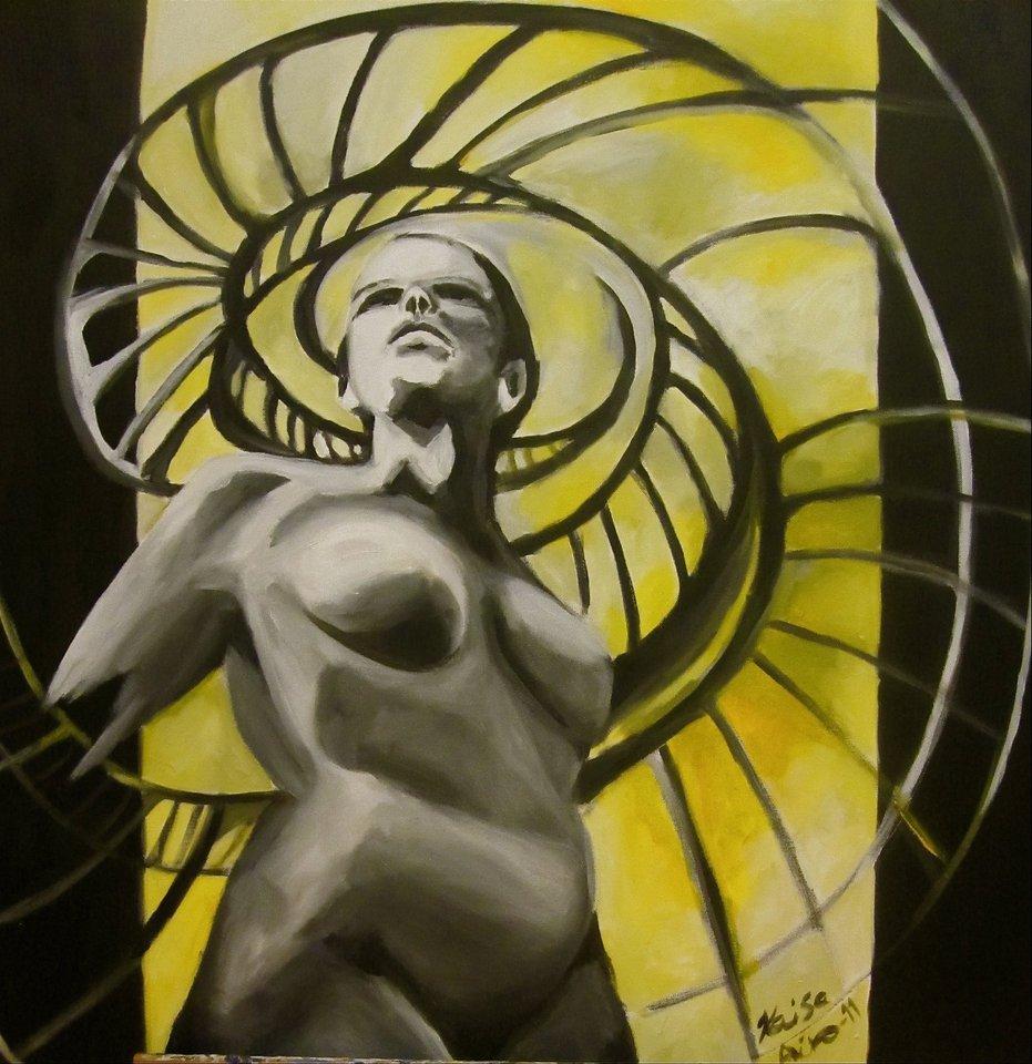 2011, Akryylimaali, canvas, 90X90cm