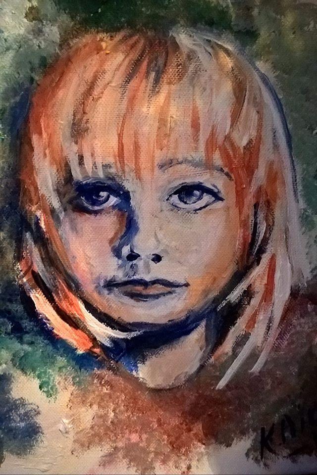 Akryyli,kanvas 20cmx30cm, myyty